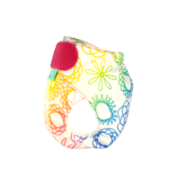 TotsBots Nappy TeenyFit STAR: Doodlebum (side view)- buy online at Sea No Waste